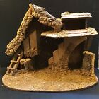 Vintage X Large Manger Creche Made Italy Accom Large Hummel Fontanini Nativity