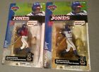 Series 1 McFarlane Chipper Jones Regular and Variant lot of 2 pieces
