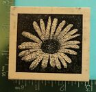 DAISY FLOWER BLOSSOM Rubber Stamp by Outlines Rubber Stamp