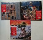 Deathrow Deception Ignored + Raging Steel + Riders Of Doom 3 CD reissues new