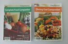 Weight Watchers 2006 Dining Out Companion and Complete Food Companion Books EUC