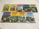 9 x Thomas The Tank Engine And Friends Ladybird Vintage Books 1988 Rev W Awdry