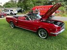 1965 Ford Mustang 1965 Red Mustang Convertible Awesome