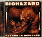 BIOHAZARD -Reborn In Defiance CD -2012 (American Hardcore Punk/Metal)
