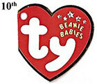 Beanie Babies TY Retired Assorted Bears & Animals Plush - 10th Generation Tags