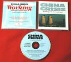 CHINA CRISES Working With Fire And Steel WEST GERMANY CD 1pr VIRGIN BLUE LABEL