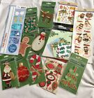 Mixed Lot Of Christmas Themed For Scrapbooking Projects Gifts New In Pkgs