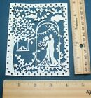 ROMANCE TAPESTRY paper die cut embellishment FreeShipPromo scrapbook card making