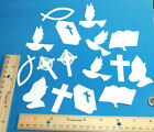 RELIGIOUS paper die cut embellishment FreeShipPromo scrapbook card making
