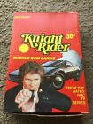 1982 DONRUSS KNIGHT RIDER FULL BOX Non Sports TV Trading CARDS 36 Sealed PACKS!