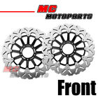 Stainless Steel Front Brake Disc Set For Ducati DESMOSEDICI 1000 RR 1000 08-09