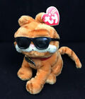 2004 TY Beanie Baby Garfield Cool Cat 6 inch Plush with Sunglasses