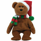 TY Beanie Baby - 2008 HOLIDAY TEDDY the Bear (9 inch) - MWMTs Stuffed Animal Toy