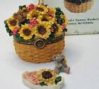 Boyds Bears Edmund's Sunny Basket Mother's Treasure Box 2004 Special #82537