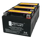 Mighty Max YTX4L BS SLA Battery Replaces UTX4L BS for 50cc Scooter ATV 3 Pack