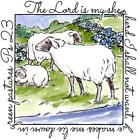New ART IMPRESSIONS RUBBER STAMP Windows to the world cling SHEPHERD Ps23