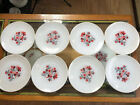 Fire King Primrose 8 Dinner Plates Excellent Condition Ships Free