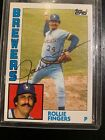 Rollie Fingers Cards, Rookie Card and Autographed Memorabilia Guide 9