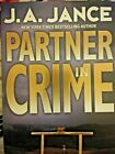 J A JANCE  PARTNER IN CRIME  First Edition Signed by Author