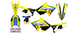 2001-2009 Suzuki RM 125 RM 250 POLISPORT Restyled Graphics Kit Decal RM125 RM250