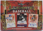 2019 Leaf Ultimate Draft Baseball Hobby Box — 6 Autographed Cards Per Box!