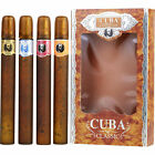 Cuba Variety 4 Piece Variety With Cuba Gold Blue Red & Orange & All 35ml/1.17oz