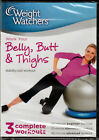WEIGHT WATCHERS BELLY BUTT  THIGHS Gym STABILITY Balance BALL WORKOUT DVD Video