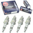 4pcs 06-07 TGB R50X NGK Iridium IX Spark Plugs 49 Kit Set Engine to
