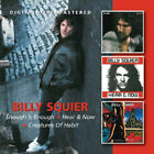 Billy Squier ‎– Enough Is Enough / Hear & Now / Creatures Of Habit 3LP on 2CD