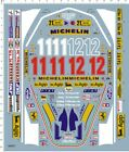 1/12 Scale F1 Ferrari 312T4 Gilles Villeneuve 312T Model Kit Water Slide Decal