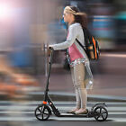 ANCHEER Adult Kick Scooter Folding 3 Level Adjustable Height 2 Wheels Disc Brake