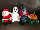 Ho Ho Who - 4 Ty Beanie Baby Collection - 1998-2001 - Used