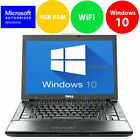 LAPTOP LATiTUDE WINDOWS 10 CORE 2 DUO 4GB RAM WIN DVD WIFI PC HD COMPUTER DELL