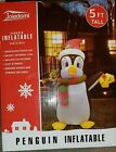 Joiedomi Christmas Penguin Inflatable 5 Ft