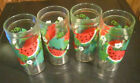 Vintage Anchor Hocking Watermelon 16oz. Iced Tea Glasses Set of 4