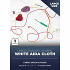 × 39 in Aida Cloth Cross Stitch Fabric 14 Count for Embroidery, White