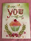 NEW Leanin Tree Birthday Note Card Happy You Day