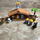 Fisher Price Little People Lil Shepherds Set Christmas Nativity Angel Jesus Song