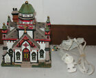 Lemax 2003 Saint Anthony Church Porcelain Christmas Village House with Light