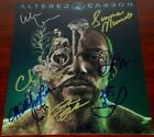 ALTERED CARBON SIGNED 8X10 POSTER PHOTO BY 7 AUTO COA LEE MISSICK CONNER LOREN +