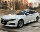 1 18 Honda Accord 10th 2018 Diecast Model Car Gifts Ornament Collection White