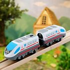 Electric Magnetic Train Toy Locomotive Plaything For Kid Thomas Wooden Track US