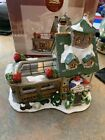 Lemax Enchanted Forest Village Lighted Glass Window House Christmas Flower Shop
