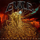 Evile : Infected Nations CD Album with DVD 2 discs (2009)
