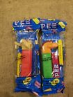 Collectible Mama Dino and Scrat Ice Age Character Pez Dispensers. Lot of 2.