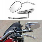 Chrome Mirrors For Harley Davidson Sportster XL883 XL1200 Dyna Softail Road King