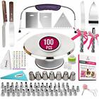 117 PCs Cake Decorating Kit and Turntable Assorted Sizes