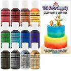 US Cake Supply by Chefmaster Airbrush Cake Color Set The 12 Most Popular