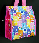 CARE BEARS LUNCH BAG INSULATED LUNCH SACK TOTE BIRTHDAY GIFT EASTER GRUMPY