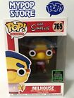 Funko Pop! Milhouse #765 The Simpsons ECCC Shared Exclusive Box Lunch